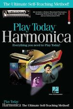 Play Harmonica Today Complete Kit Includes Everything You Need to Play 000703707
