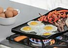 Lodge Rust Resistant Cast Iron Two-Burner Griddle - 18 Inch