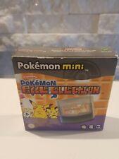 Nintendo Pokemon Mini Puzzle Collection NEW