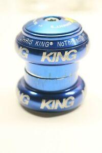 "Chris King NoThreadSet Threadless Headset 1-1/8"" Navy Blue Road Mountain Gravel"