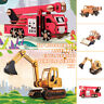 Engineering Vehicle 3D Wooden Puzzle Jigsaw Woodcraft Model Puzzle Kids DIY Toys