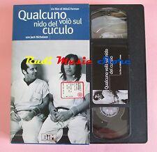 film VHS cartonata QUALCUNO VOLO' SUL NIDO DEL CUCULO J. Nicholson (F36 *)no dvd