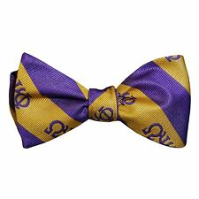 G2303 - Omega Psi Phi Bow Tie and Handkerchief