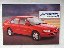 Proton Modellprogramm - 415 GLi 416 GLXi - Prospekt Brochure 1995?