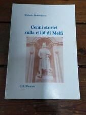 Melfi) M. De Gregorio, Cenni storici sulla città di Melfi