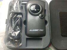 New! Personal Breathalyzer Blow Machine AlcoHawk Pro With Leather Case