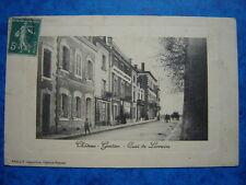 CHATEAU -GONTIER  :  Quai de Lorraine.....VO.1911.