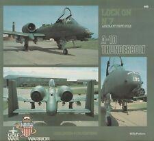 A-10 Thunderbolt - Lock On No. 7 by W. Peeters (1990) Fairchild A-10 Thunderbolt