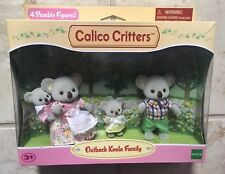 Calico Critters Outback Koala Family Epoch New In Box Posable Figures