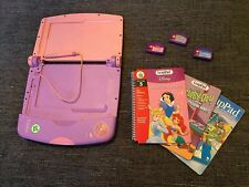 My First Leap Pad Leap Frog Learning System Books And Pink Console