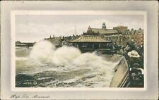 Mary E Womersley. c/o Mrs Whitehead, 111 Huddersfield Rd, New Key 1913  QR537