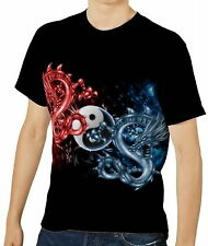 Drache-Träume Herren T-Shirt Tee Gr. S M L XL 2XL 3XL aao40264