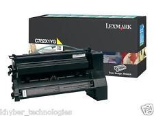 Lexmark C782X1Yg Yellow Laser Toner Cartridge Extra High Yield 15k  Genuine