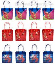 Nick Jr. Sesame Street Elmo Birthday Party Favors Goodie Bag 12pc Gift Set Bags!