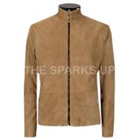 Men's James Bond Suede Daniel Craig Spectre Morocco Blouson leather jacket