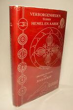 Verborgenheden Tussen Hemel En Aarde Mysticism and Yoga Jogi Dorjie Signed 1955
