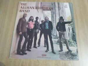 THE ALLMAN BROTHERS BAND - SELF TITLED - UK A2/B2 - VERY GOOD