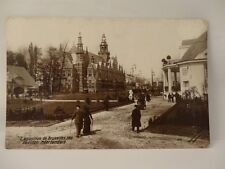 **VINTAGE EXPOSITION DE BRUXELLES 1910 PAVILLON NEERLANDAIS POSTCARD**