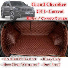 Tailored Brown Boot Liner Cargo Mats Cover for Jeep Grand Cherokee 2011 - 2018