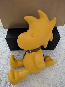 💚 NWT COACH x Limited Edition Peanuts Woodstock Leather Bear Collectible Doll