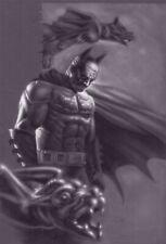 BATMAN Dark knight ORIGINAL acrylic illustration art