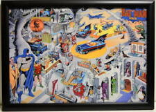 SECRETS Of The BATCAVE Framed PRINT w Acrylic Finish Dick Sprang Batman