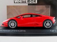 WhiteBox WB504 Lamborghini Huracán LP 610-4 (2014) in rot 1:43 NEU/OVP