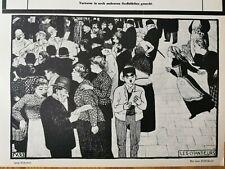 1913 Zeitungsdruck nn2 / Felix Vallotton Les Chanteurs Nabis