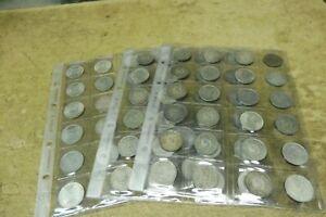 AUSWAHL 5 DM Silber , 1951/1974 SILBERADLER , alle Buchstaben D F G J vorhanden