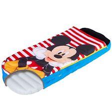 Officiel Mickey Mouse Lit Prêt Gonflable Portable Soirée Pyjama Garçons