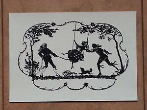 Paper cut cutting CNC copy Scherenschnitte silhouette Kaskeline art. S001
