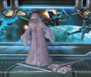 STAR WARS FIGURE 2005 ROTS COLLECTION (DARTH SIDIOUS) (HOLOGRAPHIC EMPEROR)
