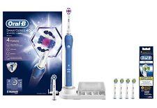 Braun Oral-B 4000 Smart Séries 3D Blanc Brosse À Dents Électrique+EB18-4 Extra