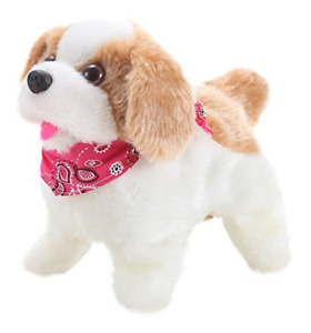 Liberty Imports Cute Little Puppy - Flip Over Dog, Somersaults, Walks, Sits,