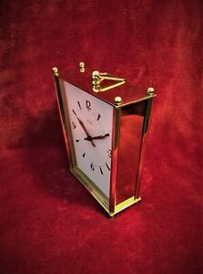 Old Vintage Very Rare Art Deco Chiming Mauthe Mantle Mechanical Clock Working