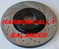 Fits Nissan Murano Drilled Slotted Rotors Harmonically Balanced Front Pair