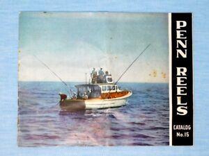 1950 Penn Fishing Reels Catalog No. 15