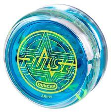 Duncan Pulse Blue LED Yo Yo  + 3 FREE NEON STRINGS YEL/ORG/GREEN