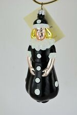 Patricia Breen 1996 Christmas Ornament Pierrot Girl Gothic Look Item # 9621
