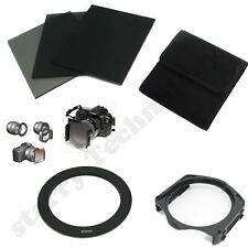 FULL ND2 4 8 filter+Pouch Case+67mm Adapter Ring+Holder for Cokin P Series new