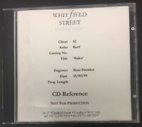 Reef - Rides - RARE Master CD Reference Whitfield Street 13/02/99 Prentice VGC