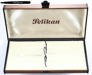 Old Pelikan Pen Box / Case in Wood Optics for 3 pens