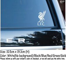 LIVERPOOL FC Stickers Refelctive Car Decals Football Club Stickers Best Gifts