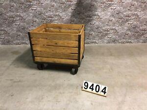 nr.9404 trolley/rolwagen industriell vintage loft tisch