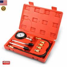 Car Vehicle Diesel Engine Cylinder Compression Pressure Tester Gauge Test Kit US