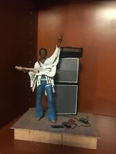 *JIMI HENDRIX AT WOODSTOCK*McFarlane Action Figure*Super Stage*Loose*CLEAN*RARE!