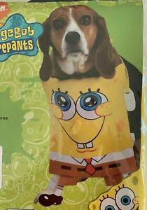 NIP Rubie's Costume Company SpongeBob Squarepants Dog Costume XL 22-24 Inches