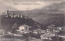 # VITTORIO VENETO: CASTELLO VESCOVILE E PANORAMA - 1917
