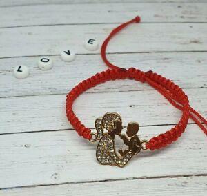 Handmade Bracelet  Friendship  Mum And Baby  Family Charm  Birthday Gift