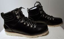 NEW UGG Leather Boots CAPULIN Black Men's Size 13